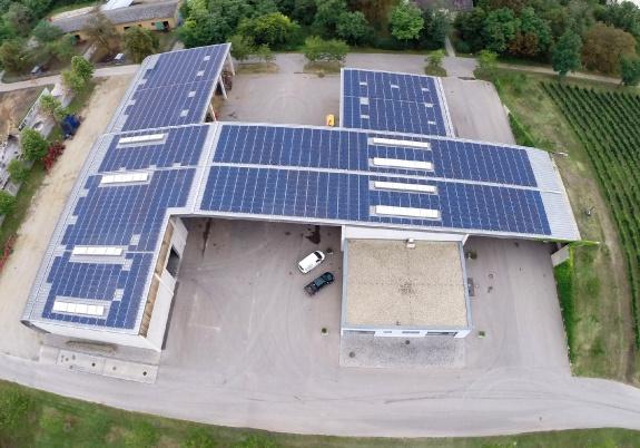 Photovoltaic Domaine Albrechtsfeld