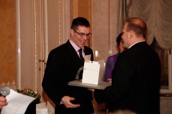 Einer der Award of Excellence 2013 Gewinner: Harri Mikker / AS Estonian Cell