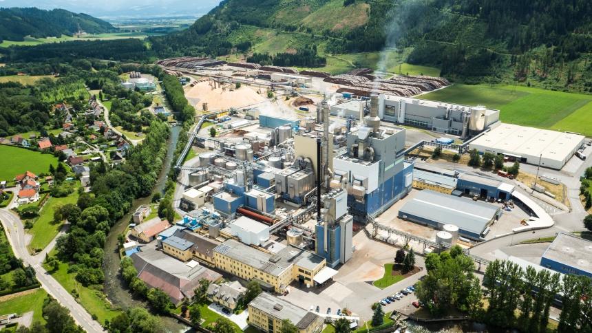 Photo Zellstoff Pöls AG Production site (2.3 MB)