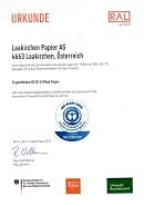 Zertifikat Der Blaue Engel GraphoMotion BE (64,1 KB)