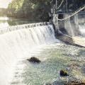 curved dam